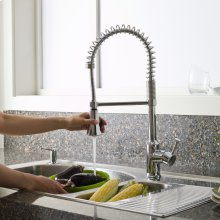 Pekoe 1-Handle Semi-Professional Kitchen Faucet  American Standard - Polished Chrome