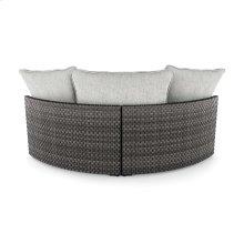 Curved Corner Chair w/Cushion