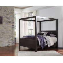 Daltori - Black 3 Piece Bed Set (Queen)