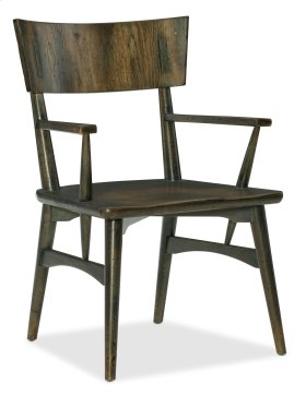 Dining Room Crafted Arm Chair