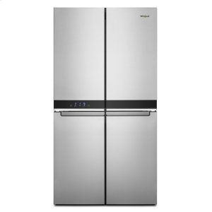 Whirlpool  36-inch Wide Counter Depth 4 Door Refrigerator - 19.4 cu. ft.