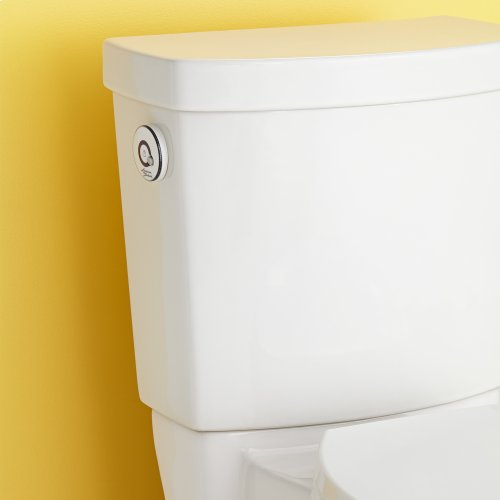 Clean ActiVate Touchless Right Height Elongated Toilet - 1.28 gpf - White