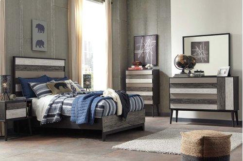 Micco - Multi 2 Piece Bedroom Set
