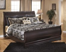 Esmarelda - Dark Merlot 3 Piece Bed Set (King)