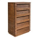 Linea High Chest Walnut Product Image