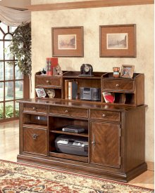 Home Office Short Desk Hutch
