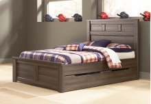 Juararo - Dark Brown 5 Piece Bed Set (Full)