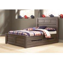 Juararo - Dark Brown 5 Piece Bed Set (Full)