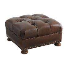 Elle Leather Ottoman