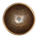 Small Round Botanical Product Image