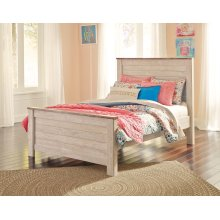 Willowton - Whitewash 3 Piece Bed Set (Full)