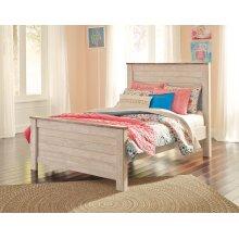Willowton - Whitewash 3 Piece Bed Set (Full)