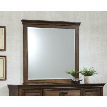 Franco Burnished Oak Dresser Mirror