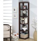 Transitional Cappuccino Bookcase Product Image