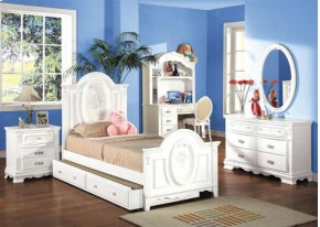 Flora Twin Panel Bed