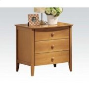 Maple 3 Drawer Nightstand Product Image