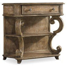 Bedroom Solana One-Drawer Leg Nightstand