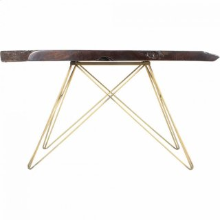 Tectona Console Table Dark Brown