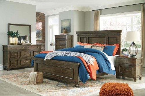 Darloni - Grayish Brown 2 Piece Bedroom Set