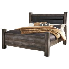 Wynnlow - Gray 4 Piece Bed Set (King)