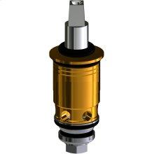 Quaturn compression operating cartridge for steam valves