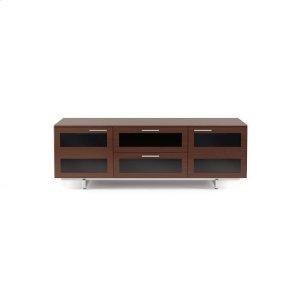 Bdi FurnitureTriple Width Cabinet 8927 in Chocolate Stained Walnut
