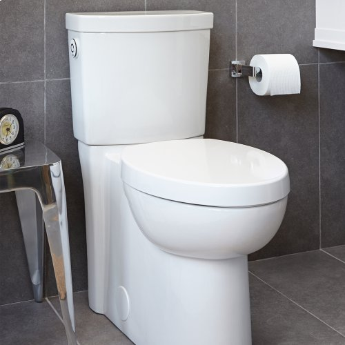 Studio Activate Concealed Trapway Toilet - 1.28 GPF - White
