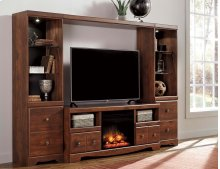 Brittberg - Reddish Brown 5 Piece Entertainment Set
