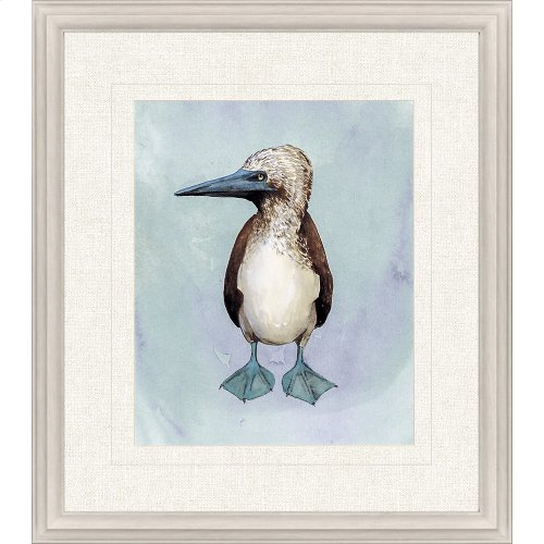 Watercolor Beach Bird I