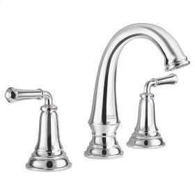 Delancey Widespread Faucet - Red and Blue Indicators  American Standard - Polished Chrome