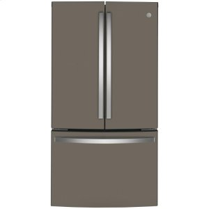 GE®ENERGY STAR® 23.1 Cu. Ft. Counter-Depth French-Door Refrigerator