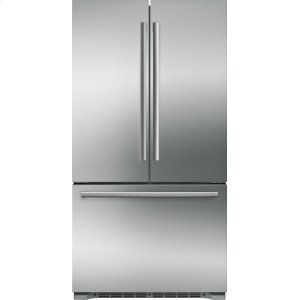 Bosch800 Series French Door Bottom Mount Refrigerator Easy clean stainless steel B21CT80SNS