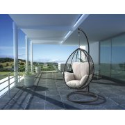 SIMONA BLACK HANGING CHAIR Product Image