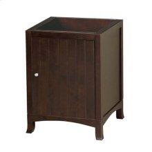 "Hampton 24"" Bathroom Vanity Cabinet Base in Vintage Walnut"