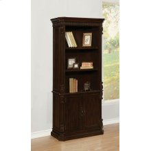 Tucker Rich Brown Bookcase