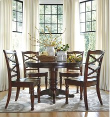 Porter - Rustic Brown Dining Room Table