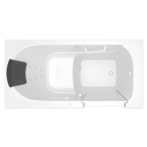 Premium Series 30x60 Whirlpool Walk-in Tub, Left Drain  American Standard - White