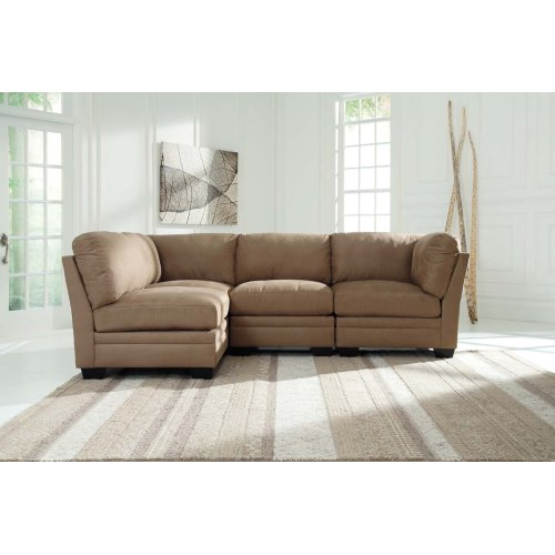 Iago - Mocha 4 Piece Sectional