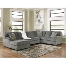 LAF Chaise 3 piece sectional -Loric- Smoke collection