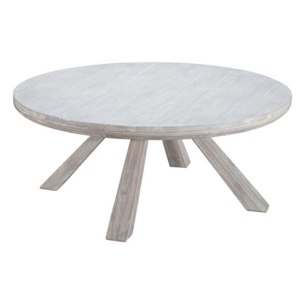 Beaumont Round Coffee Table Sun Drenched Acacia