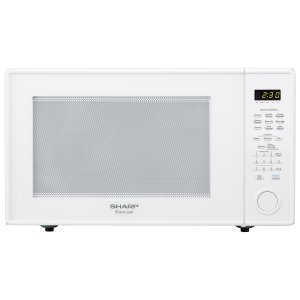 Sharp Appliances2.2 cu. ft. 1200W Sharp White Countertop Microwave Oven