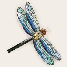 Metal Mosaic Dragonfly