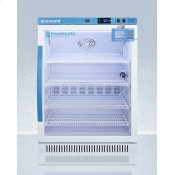 Performance Series Pharma-vac 6 CU.FT. Freestanding ADA Height Glass Door All-refrigerator for Vaccine Storage With Factory-installed Data Logger