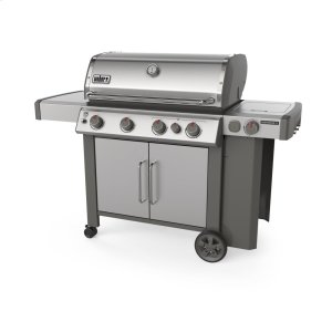 WeberGENESIS II S-435 Gas Grill Stainless Steel Natural Gas