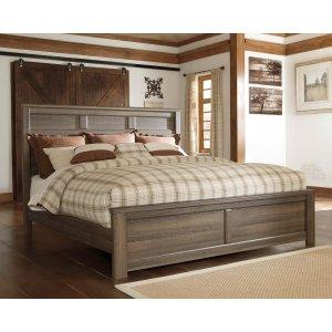 Ashley Furniture Juararo - Dark Brown 3 Piece Bed Set (King)