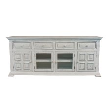 "Charleston White 70"" TV Stand"