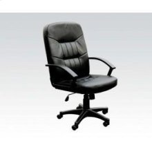 Bk Bonded Leather Office Chair