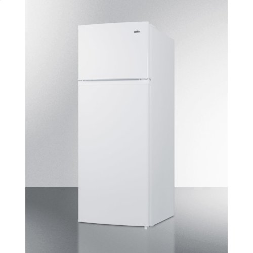 Two-door Cycle Defrost Refrigerator-freezer In Slim Width and White Finish