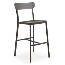0245 Stackable Bar Stool (Charcoal)