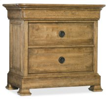 Bedroom Archivist Three-Drawer Nightstand